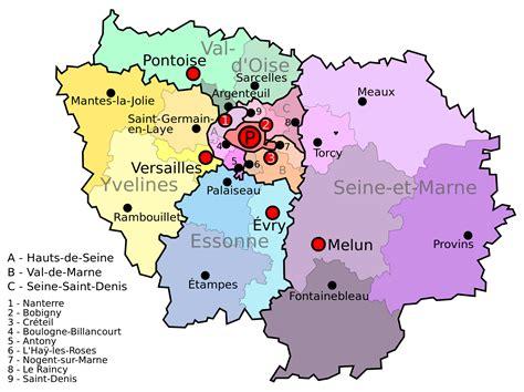 Region Parisienne by R 233 Gion Ile De Arts Et Voyages