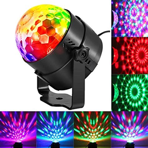 Light Sound Activated Party Lights Disco Ball Kingso