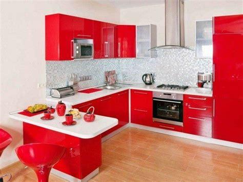 cocinas minimalistas modernas rojas  blancas gallery