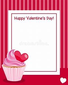 Valentine S Day Vertical Frame Stock Vector - Illustration ...
