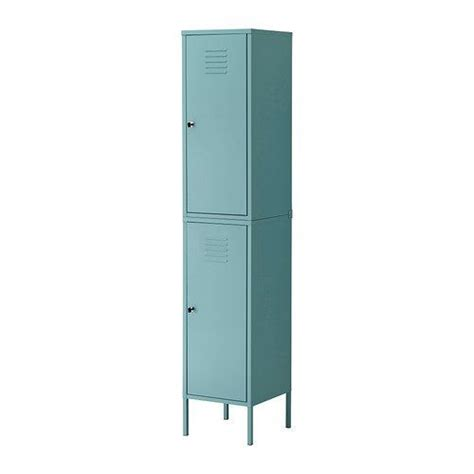 storage cabinets kitchen ikea ps cabinet locker turquoise green 2547