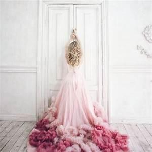La robe de mariee rose pastel grande tendance des millenials for Robe pour mariage cette combinaison bijoux mariee