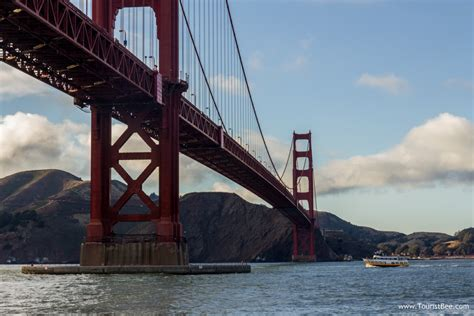 Boat Tour Under Golden Gate Bridge golden gate bridge san francisco tour boat going under