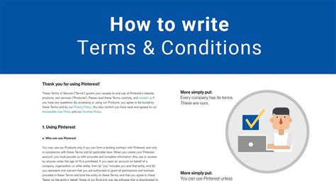 How To Write Terms & Conditions Termsfeed
