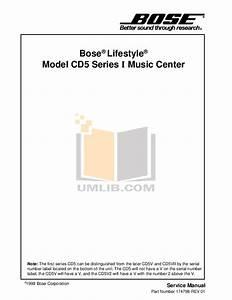 Download Free Pdf For Bose 501 Series V Speaker Manual