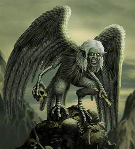 Harpy by Malcolm Brown - Photoshop Creative