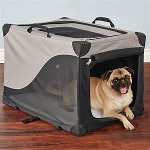 soft sided dog crate dog crate soft sided pet carrier With pop up dog kennel extra large