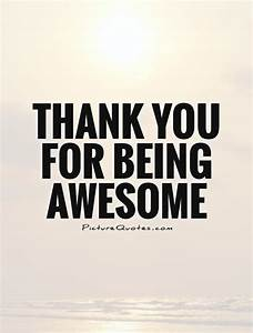 Thank You Quote... Awesome Thanks Quotes