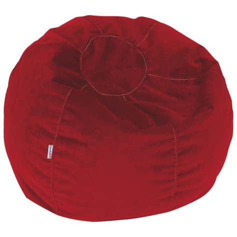 comfy kids polyester teen bean bag red kids teens
