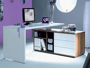 Bureau Moderne Design : armoire informatique et bureau pour ordinateur modernes ~ Teatrodelosmanantiales.com Idées de Décoration
