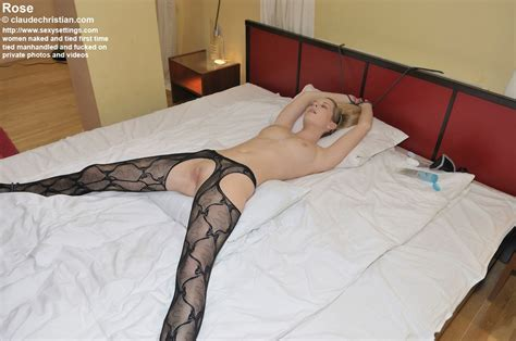 Petite Blonde Babe Rose In Crotchless Panty Xxx Dessert
