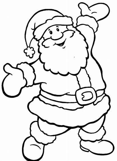Coloring Christmas Pages Printable Wallpapers9 Santa Noel