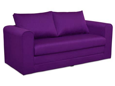 canape convertible violet canapé convertible violet prune achat en ligne