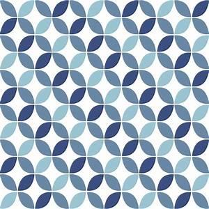 Papier Peint Motif Geometrique : papier peint motif bleu g om trique retro seamless ~ Dailycaller-alerts.com Idées de Décoration