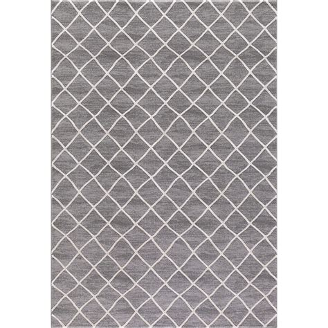 Rugs Grey by Prestige Ivory Gray 8 Ft X 10 Ft Area Rug 29727h The