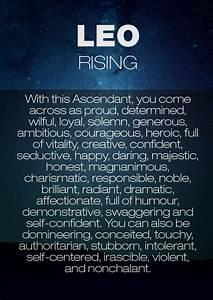 Rising Sign Ascendant Sign Leo Rising Astrology Leo