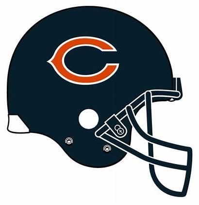 Football Clipart Nfl Helmets Bears Chicago Helmet