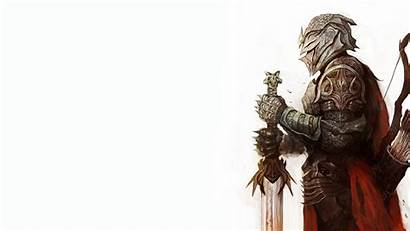 Knight Sword Wallpapers Holding Medieval Iphone Fantasy