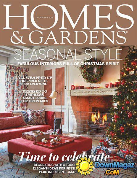 homes gardens december 2016 187 pdf magazines