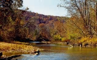 Ozark Mountain Autumn Wallpaper