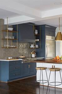 23 gorgeous blue kitchen cabinet ideas With kitchens with blue in it