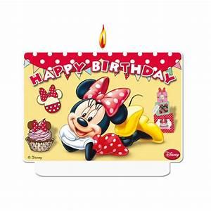 Happy Birthday Maus : zahlenkerze minnie maus happy birthday 7 x 9 cm g nstig kaufen bei ~ Buech-reservation.com Haus und Dekorationen