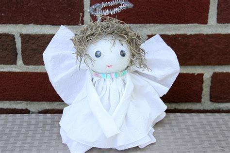 diy toilet tissue angel