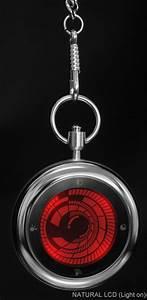 Kisai Vortex Lcd Pocketwatch
