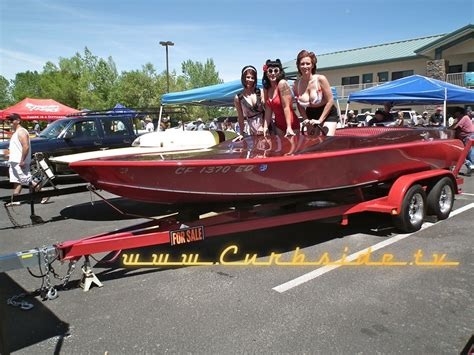 Rat Fink Boat by Lakeside Car Boat Show Curbside Car Show Calendar