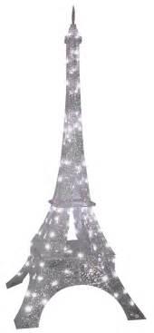 gemmy sparkle crystal splendor eiffel tower prop christmas decor show lights