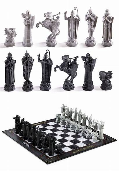 Chess Human Wizard Potter Harry Giant Chamber