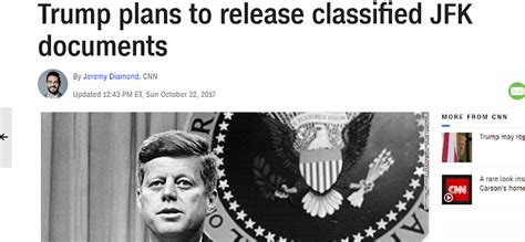 The Mindless Freaks: Trump to release classified JFK ...