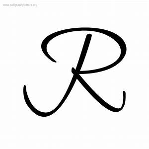 8 Best Images of Letter R Script - Cursive Letter R ...