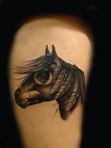 Native American Horse Tattoo