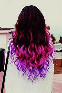 purple ombre on Tumblr