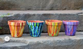 Paint Flower Pot Painting Craft Ideas