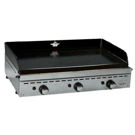 cuisiner la plancha gaz plancha gaz inox 3 bruleurs 75 cm ibericainox750 achat