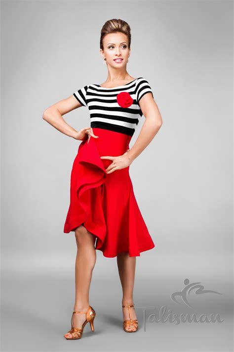 Fun & Elegant Wired Skirt Latin Dress