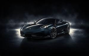 Black Ferrari F430 Wallpaper Image 306