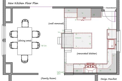 island kitchen floor plans kitchen layouts archives design manifestdesign manifest