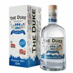 VON HEIMATLIEBE UND WANDERLUST THE DUKE Gin Munich Dry