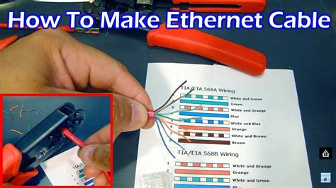How Make Ethernet Cable Straight Through Crossover