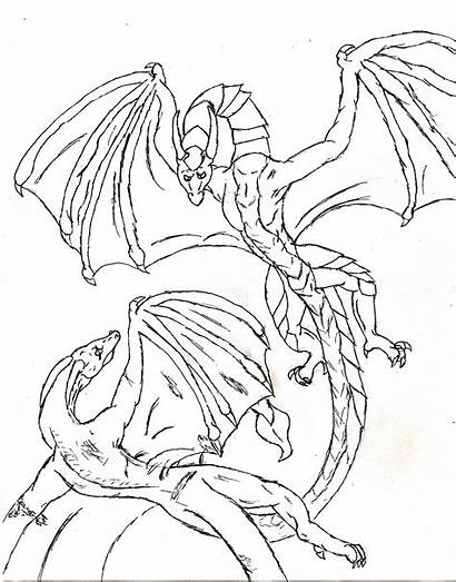 Dragon Coloring Pages Headed Chinese Printable Getcolorings