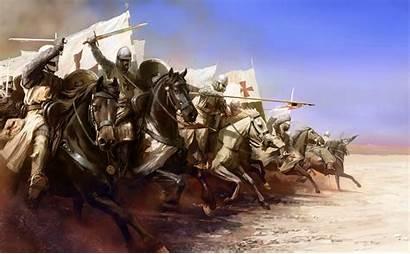 Templar Crusade Fantasy Von Ritter Krieger Tempelritter
