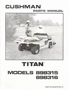 Cushman Golf Cart 36 Volt Wiring Diagram 1974 To : pu33 160 parts manual electric 39 76 39 83 vintage golf ~ A.2002-acura-tl-radio.info Haus und Dekorationen
