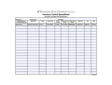 inventory control spreadsheet template 13 sample inventory spreadsheet templates free sample