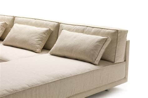 canapé en plume coussins de dossier pour le canapé en plume dennis