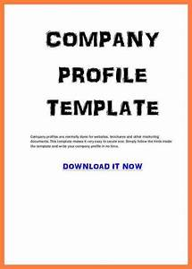 delighted business profile template pdf contemporary With how to make a company profile template