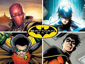 leaving the nest batman and a beyond robin dc