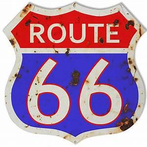 Route 66 Schild : route 66 store retro route 66 38cm x 38cm sign red blue white ~ Whattoseeinmadrid.com Haus und Dekorationen